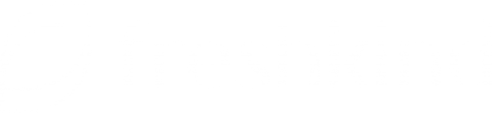 freshkind Marketing Agentur Beratung Logo Weiß